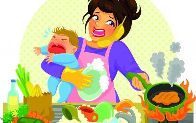 Kinder, Kohle, Kochstress?